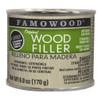 Famowood Professional Solvent-based Wood Filler, 6 oz., Natural