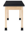 """Diversified Woodcrafts 2-Student Science Table Laminate Top, 60""""W x 24""""D x 30""""H"""
