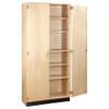 "Diversified Woodcrafts General Storage Cabinet, 30""W x 22""D x 84""H"