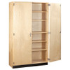"Diversified Woodcrafts General Storage Cabinet, 48""W x 22""D x 84""H"