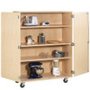 Diversified Woodcrafts Extra Large Mobile Cabinet