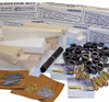 ABS CO2 Dragster 50 Kit Class Pack, Basswood with 50 Storage Boxes