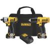 DeWalt 12V Li-ion Drill/Driver & Impact Driver Kit
