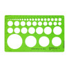 """Alvin 42 Circles Template, 1/32"""" to 2"""" DISCONTINUED"""