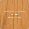 General Finishes Water-based Wood Stain, Pecan, Qt.