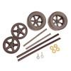 ABS Dragster Wheel Kit, Black