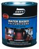 Deft Water-based Polyurethane, Satin, Qt.