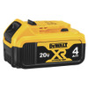 DeWalt 20V MAX Compact XR Lithium Ion Battery Pack, 4.0 Ah
