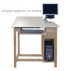 Hann CAD Drafting & Drawing Table w/CPU Cabinet & Drawer