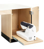 """Diversified Woodcrafts Sewing Station 1-Student Unit, 24""""D"""
