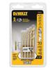 DeWalt 5-Piece Pilot Point Drill Bit Set