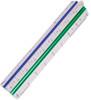 """Alvin 300 Series Architect Aluminum Triangular Scale 4"""""""