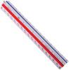 """Alvin 300 Series Architect Aluminum Triangular Scale 6"""""""