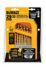 DeWalt 29-Piece Titanium Pilot-Point Drill Bit Set