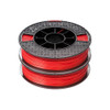Afinia ABS Premium Filament 1.75mm, 1.1 lb. Spool, 2-Pack, Red