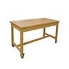 "Hann Collaboration Table 1-3/4"" Maple Top"