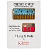 Chibitronics Love to Code Chibi Chip
