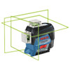 Bosch 360 Degree Connected Green-Beam Three-Plane Leveling and Alignment-Line Laser