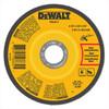 "DeWalt Type 27 Depressed Center Metal Grinding Wheel, 4-1/2"" x 1/8"" x 7/8"""
