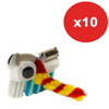 Brown Dog Gadgets Bristlebot Kit, 10 Pack