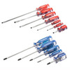Crescent Phillips and Slotted Acetate Screwdriver Set, 12-Piece
