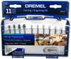 Dremel Rotary Tool Carving/Engraving Set, 11-Piece