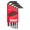Eklind L-Hex Key Set Fractional Molded Holder 11-Piece Short
