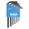 Eklind L-Hex Key Set Metric Molded Holder 7-Piece Short