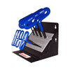 "Eklind T-Handle Hex Key Set, 6"", 8-Piece Metric Stand"