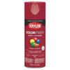 Krylon COLORmaxx Spray Paint + Primer, Gloss Cherry Red