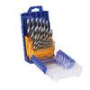 Fisch Chrome Vanadium Brad Point Drill Bit Set, 29-Piece