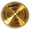 "SawStop 10"" Titanium Series Premium Woodworking Blade, 80 Tooth"