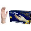 Ammex GlovePlus Vinyl Gloves, Large