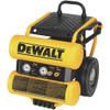 DeWalt 1.1 HP Continuous 4 Gallon Electric Wheeled Dolly-Style Air Compressor with Panel