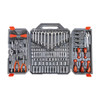 """Crescent 180-Piece 1/4"""" and 3/8"""" Drive 6 Point SAE/Metric Professional Tool Set"""