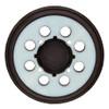 """DeWalt 5"""" Eight Hole Hook & Loop Replacement Pad, Medium"""