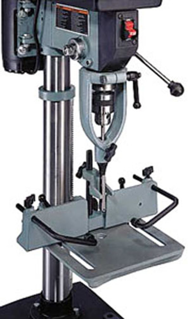 DELTA Drill Press Mortising Attachment with 4-Piece Chisel and Bit Set Hand Tool