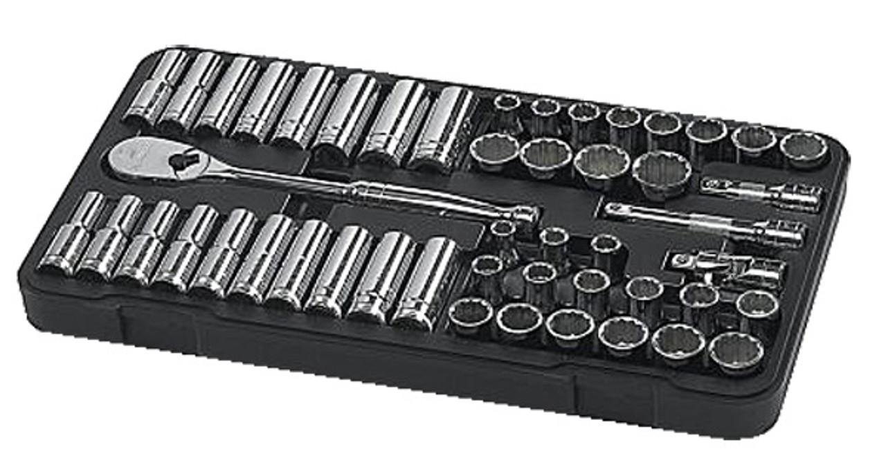 Standard//Deep GearWrench 80559 24 Piece 3//8-Inch Drive Metric Socket Set