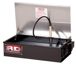 R+D Bench Top Solvent Parts Washer