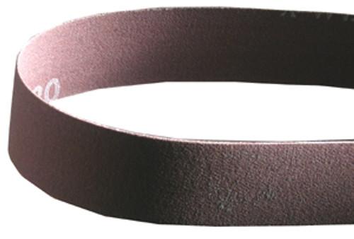 """Norton 1""""W x 42""""L Sanding Belt, 80 Grit"""