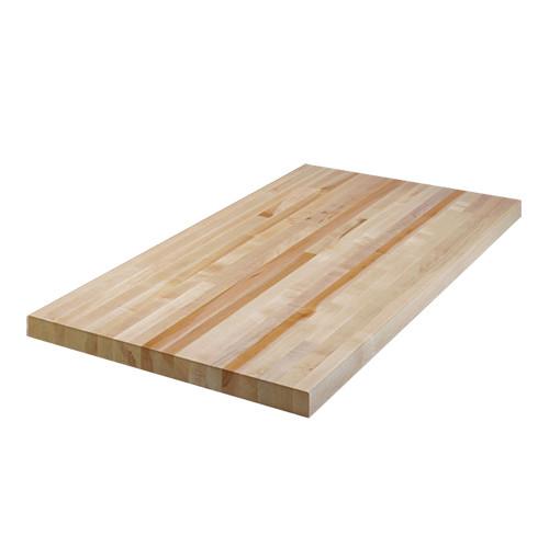 "Bally Block Butcher Block Bench Top 1-3/4"" Top, 6'L x 24""D"