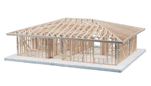 Midwest Products 1-Story Hip Roof House Framing Kit