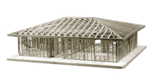 Midwest Products 1-Story Hip Roof House Refill Kit