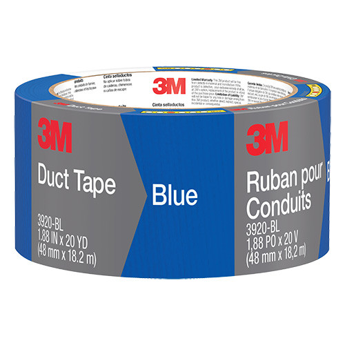 "3M Duct Tape, Blue, 2"" x 20 yd."