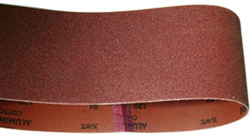 """Norton Wide Belt Sander Belt, 25""""W x 60""""L, 120 Grit"""