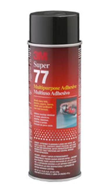 3M Super 77 Multipurpose Adhesive Aerosol, 16.5 oz.