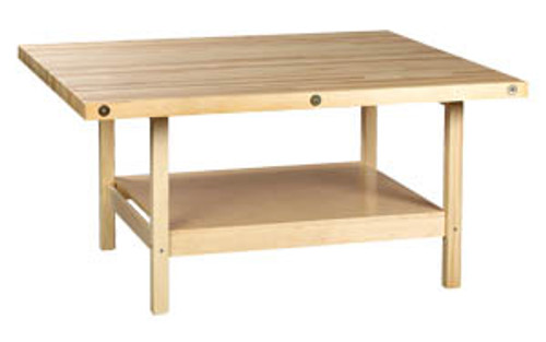Diversified Woodcrafts Open-Style Work Bench 4 Station