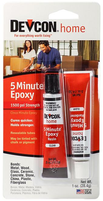 Devcon 5-Minute Epoxy, 1/2 oz. tube
