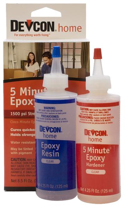 Devcon 5-Minute Epoxy, 4-1/4 oz. tube