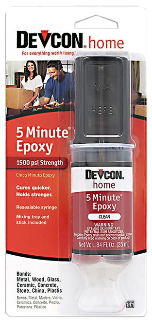 Devcon 5-Minute Epoxy, 25 ml. syringe